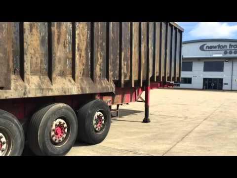 2010 Weightlifter Draycott bulk steel tipping trailer
