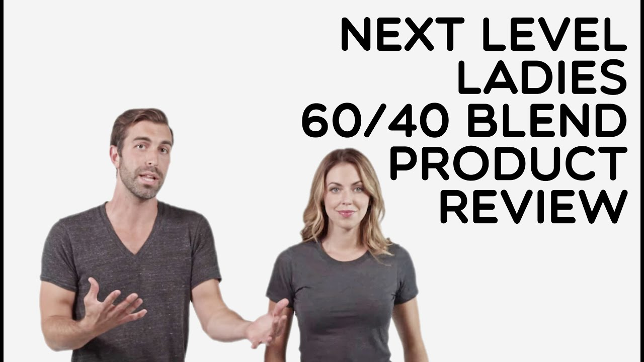 b893a44c0 Custom Ladies Next Level 60/40 CVC T-Shirt Product Review - YouTube