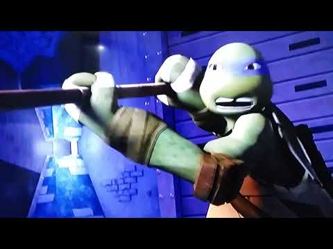 Tmnt splinter april and casey  vs robot foot soldiers