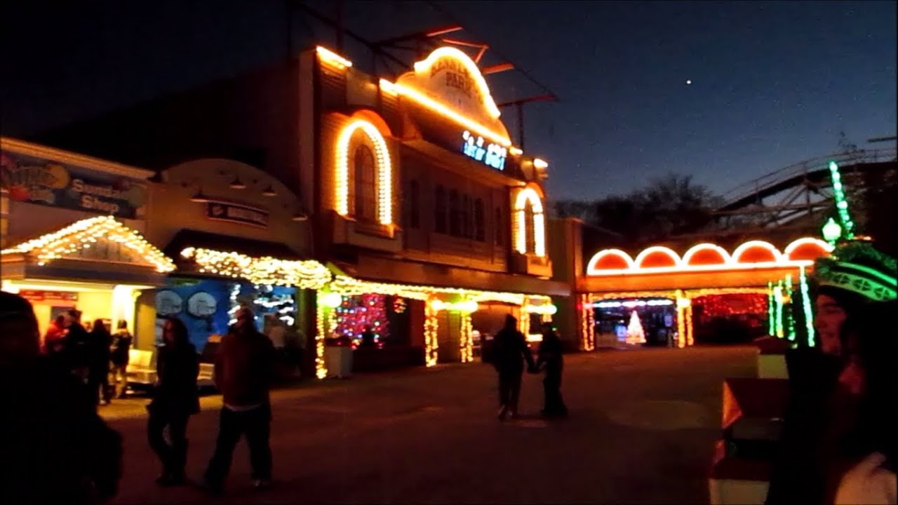 Kennywood Holiday Lights 2013 - YouTube