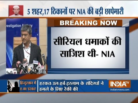 17 locations raided, 10 arrested, ISIS-linked group was planning serial blasts in Delhi: NIA