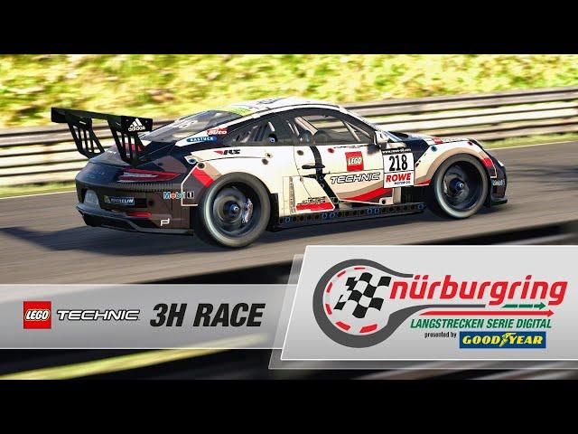 LEGO® Technic 3h-Race – Digital Nürburgring Endurance Series presented by Goodyear