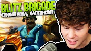 2 NOOBS OHNE AIM spielen Blitz Brigade! :D | Rewi & Dner