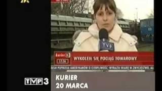 YouTube mieszne filmiki pocig reporterka wpadki