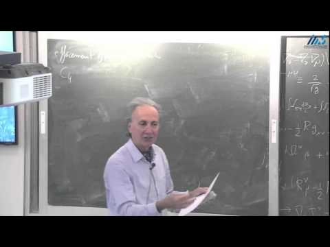 Thibault Damour - General Relativity and Experiment