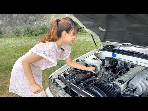 【日産ローレル】ディーゼルサウンドに興奮する25歳車好き女性。《激レアマフラー音》 #shorts ▶0:16