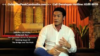 The Peak Cambodia - Interview with Actor Zheng Ge Ping