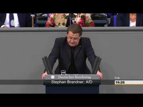 """Stephan Brandner(AfD): """"Die politische Führung in Berlin ist durchgedreht"""""""
