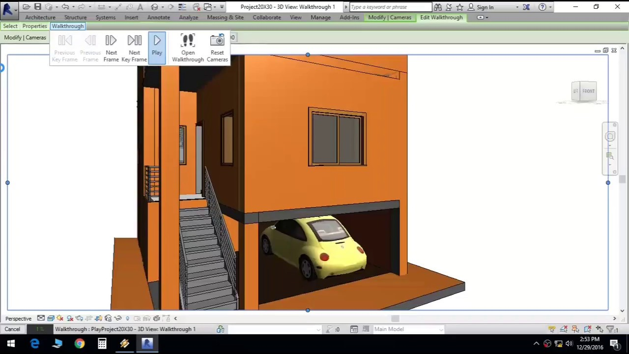 Duplex house plan in 20x30 site with car parking and 2 for Home plans for 20x30 site