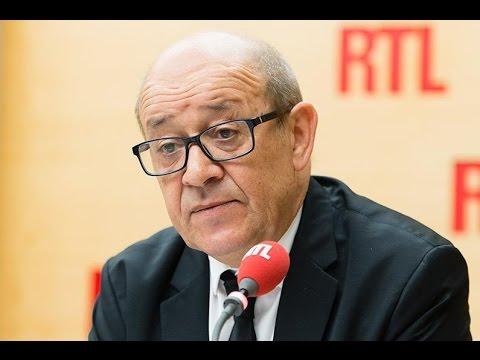 Jean-Yves Le Drian était l'invité de RTL le 14 juillet