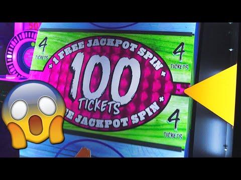 OMG I WON SO MANY ARCADE JACKPOTS!
