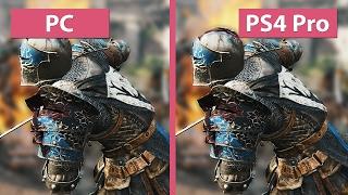 4K UHD | For Honor – PC Max vs. PS4 Pro Graphics Comparison
