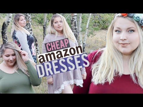 Trying On Cheap Fall Dresses From Amazon