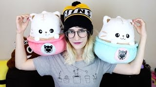 OMG JAPAN: Latte Cat Plushies!