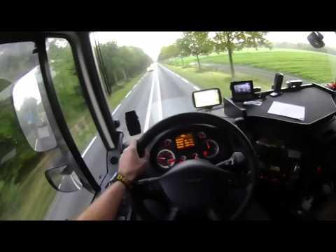 95.Egy nap Lacikával. A kamionsofőr egy napja.1.rész.