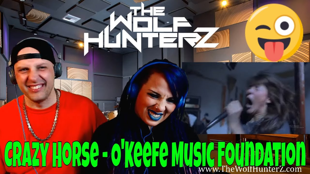 Crazy Horse O Keefe Music Foundation The Wolf Hunterz Reactions Youtube