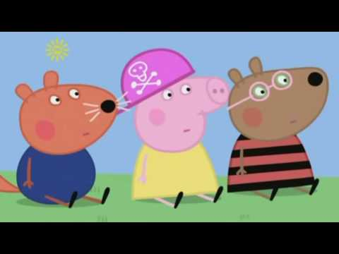 Peppa Pig listens to The Shamen Ebeneezer Goode