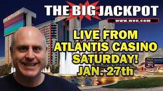 High Limit Slot Jackpots from Atlantis Casino in Reno