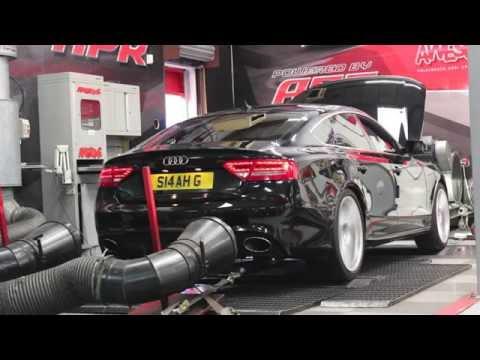 Audi A5 3.0TDI Quattro Dyno Run @ Awesome GTI Manchester