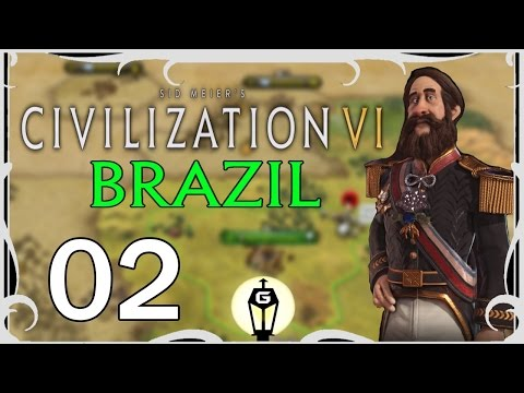 Making New Friends | Civilization VI as Brazil Ep 2