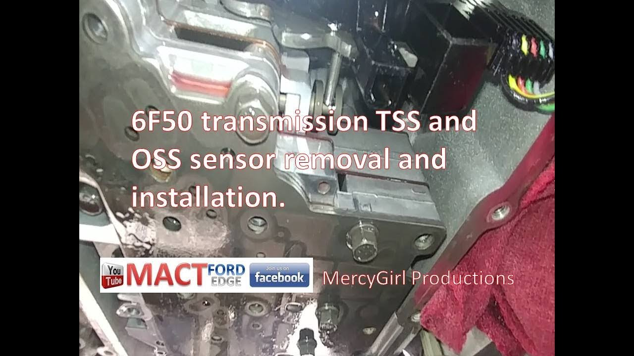 6f50 transmission tss and oss sensor removal and installation - youtube  youtube