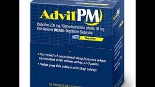 Insomniac Review: Advil PM