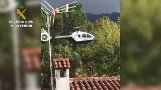 Rescates realizados por la Guardia Civil durante las lluvias en la provincia de Málaga