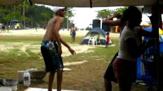 easter weekend at the beach in trinidad on the north coast 2k9 pt 2