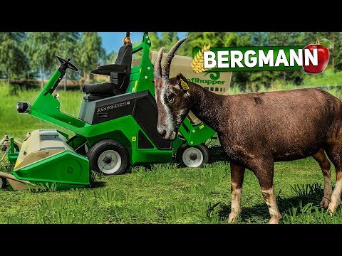 ls19-hof-bergmann-#32:-ziegen-gekauft-und-profihopper-rasenmäher- -landwirtschafts-simulator-19