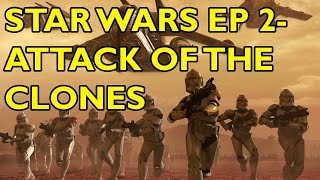 Movie Spoiler Alerts - Star Wars Ep 2 - Attack of the Clones (2002) Video Summary
