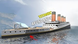 AFUNDEI O TITANIC! Disassembly 3d