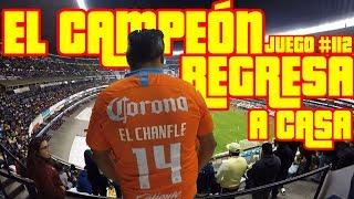 EL CAMPEÓN REGRESA AL AZTECA - AMÉRICA 3 VS PACHUCA 0 - JUEGO #112 - Del Crema Soy