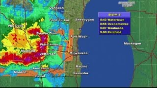 Severe T-Storm Warnings, Watches In Effect For Most Of SE Wisconsin
