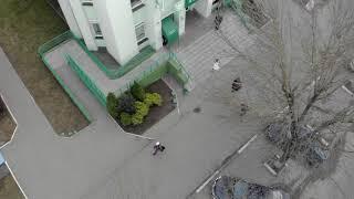 Общежитие на ул.Заслонова в Солигорске. Аэросъемка-3