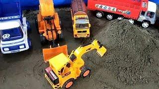 Машинки для малюків | екскаватор JCB самоскид будівельний вантажівка автомобілів іграшки для дітей