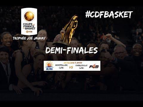 Live -  Montpellier - Charleville Mézières demi-finale de la Coupe de France féminine