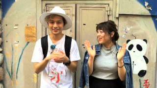 ぽわん - 女の子と男の子(もえちゃんとくぼたせんぱいver)
