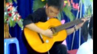 Mái trường mến yêu (2 acmonica , 1 guitar) , hòa tấu