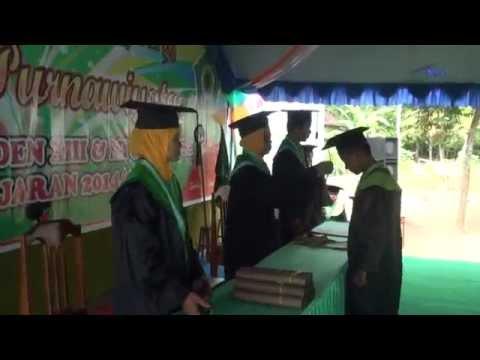 Wisuda Purnawiyata R A dan MI Senden 2015