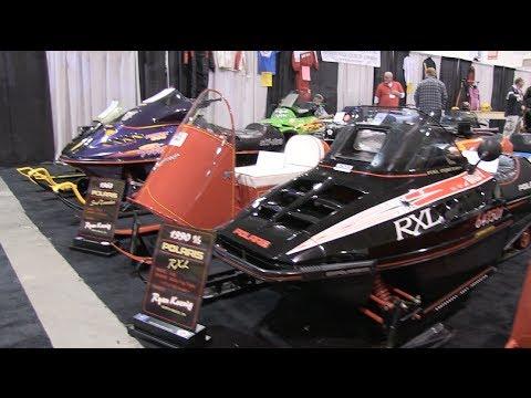 Vintage Sleds At The Toronto Snowmobile Show!  ACSCC, PowerModz!