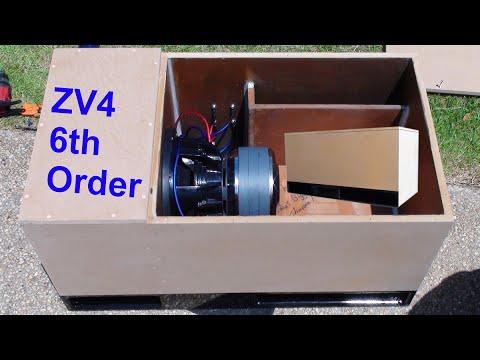 6th Order Bandpass Build Sundown Zv4 12 Quot On 2k Youtube