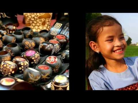 ผลิตภัณฑ์จากกะลามะพร้าว - Products from coconut shells - HD full 1080p