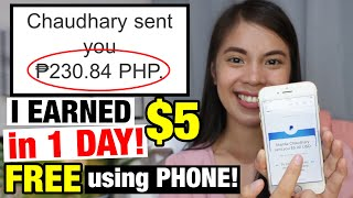 I Earned $5 iฑ 1 DAY, just PLAY! Easy Way to Make Money Online!? | Honest Review