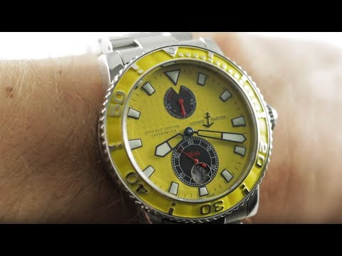 Ulysse Nardin Maxi Marine Diver (263-33-3/941) Dive Watch Review