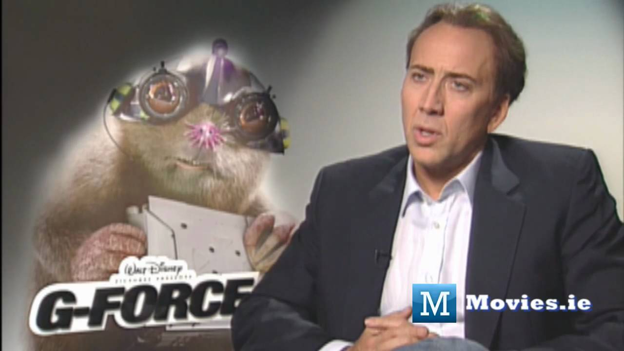 Why Nicolas Cage Became A Mole G Force Interview Youtube