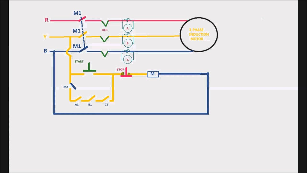 3 Phase Motor Wiring Diagram Videos - DIY Enthusiasts Wiring Diagrams •