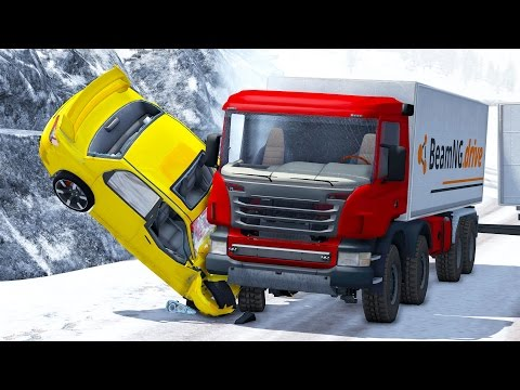 Thumbnail: Realistic High Speed Crashes #16 - BeamNG Drive