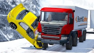 Realistic High Speed Crashes #16 - BeamNG Drive