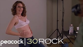 30 Rock - Liz's Pregnancy Photoshoot