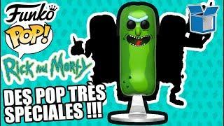 DES POP TRÈS SPÉCIALES !!! REVIEW FUNKO POP RICK ET MORTY - UNBOXING